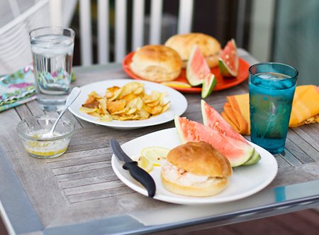 Lobster Rolls and Homemade Brioche Buns