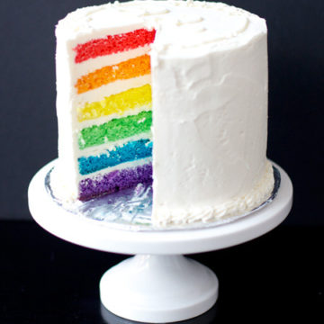 Rainbow Cake Love And Olive Oil