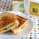 Grilled Cheese with Apricot Jam and Aurgula