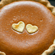 Old Fashioned Pumpkin Pie with Bourbon Whipped Cream | Love and Olive ...