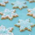 Snowflake Vanilla Almond Sugar Cookie Recipe