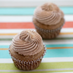 Cinnamon Chocolate Churro Cupcakes