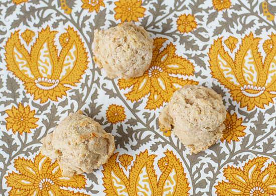Goat Cheese Drop Biscuits