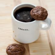 Chocolate Espresso Fudge Cookies