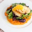 Moroccan Chicken With Carrot Purée