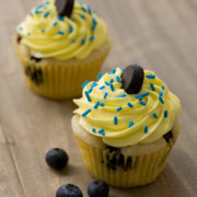 Blueberry Lemon Stanley Cupcakes