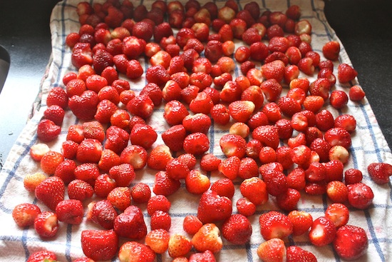Preserved Whole Strawberries
