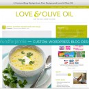 Custom Wordpress Food Blog Design