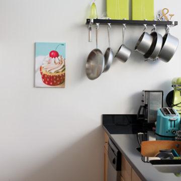 Cupcake Painting by Sarah Wain
