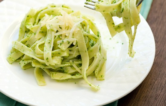 Fettucine al Pesto Genovese