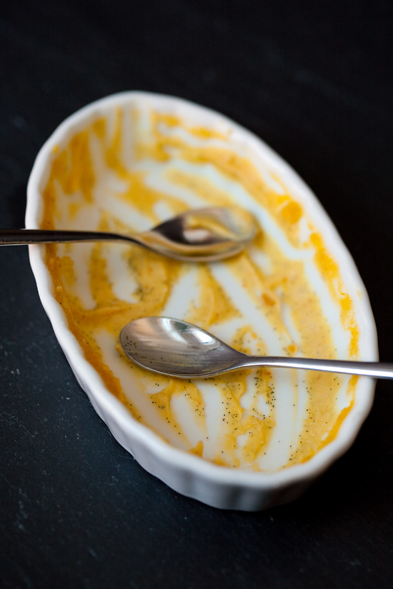 Pumpkin Vanilla Bean Creme Brulee