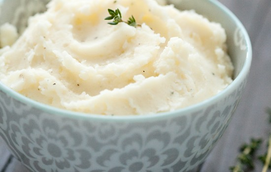 Herb & Goat Cheese Mashed Potatoes