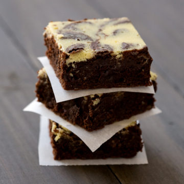 Belle Chevre Olive Sinclair Chocolate Brownies
