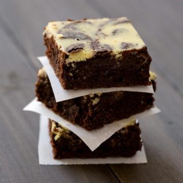 Belle Chevre Olive Sinclair Chocolate Brownies