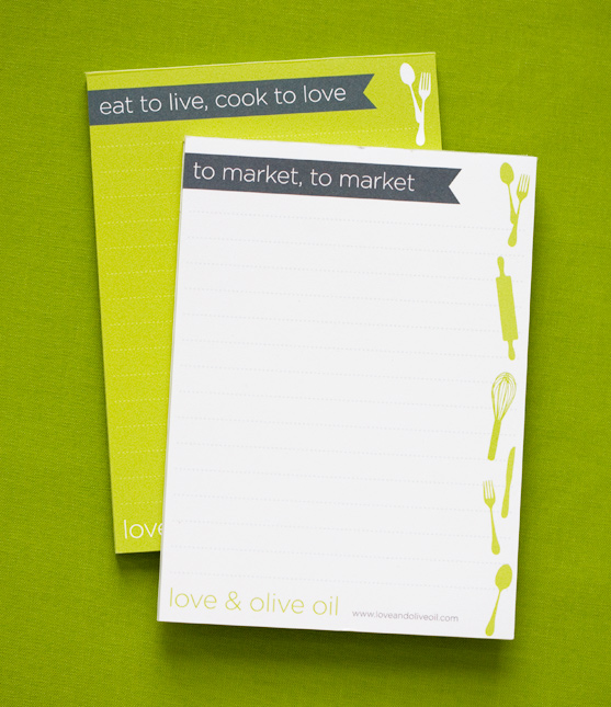 Grocery List Notepads