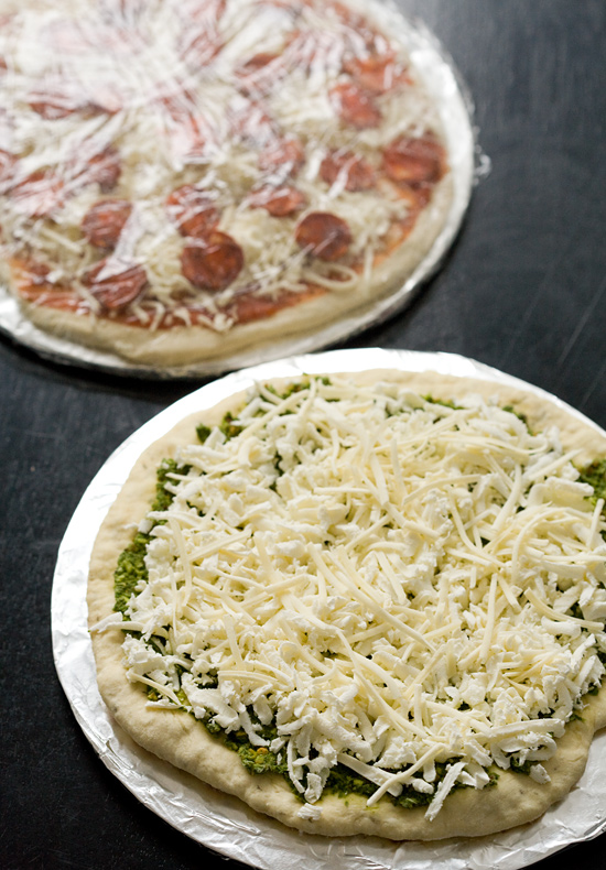 Homemade Frozen Pizza | Love and Olive Oil