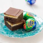 Cadbury Cream Egg Milk Chocolate Brownies