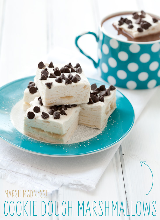 Cookie Dough Swirl Marshmallows