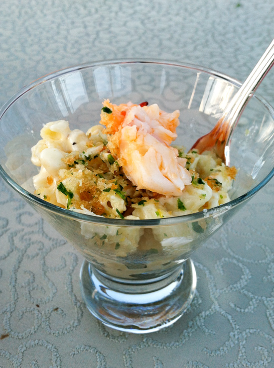 Lobster Mac and Cheese with Truffled Breadcrumbs