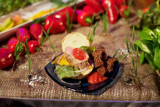 Pork Sliders and Super Grain Fries