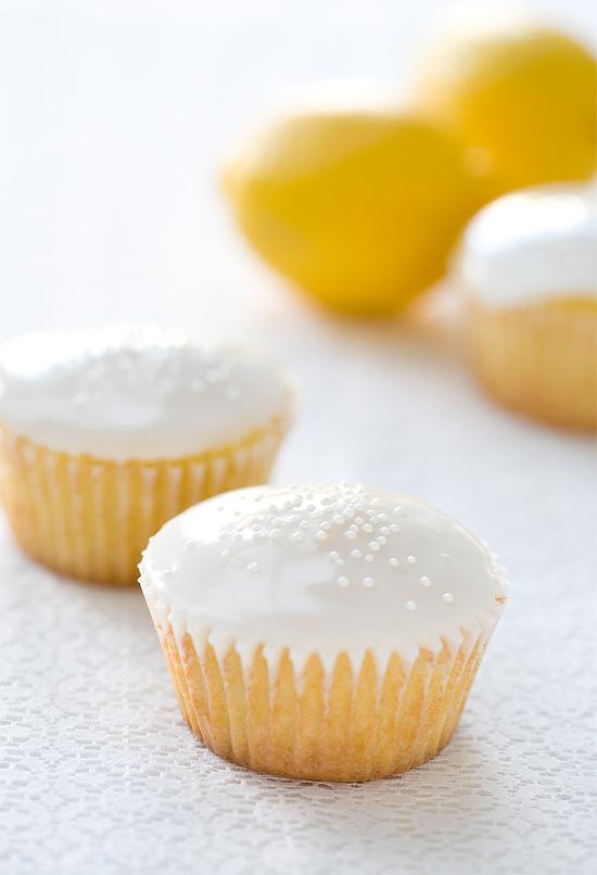 Lemon Buttermilk Cupcakes