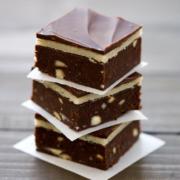 Marzipan Brownies