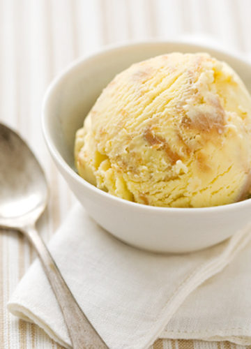 Peanut Butter and Honey Ice Cream