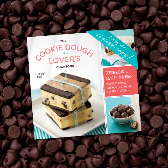 The Cookie Dough Lover's Cookbook - Win a Signed Copy!