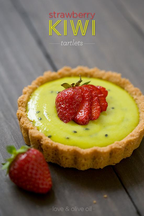 Strawberry Kiwi Tartlets Love And Olive Oil