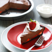 "Chocolate Strawberry Oasis Pie, inspired by the Movie ""Waitress"""