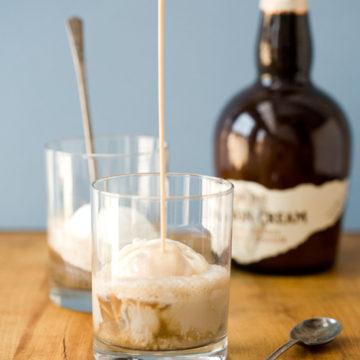 Bourbon Cream Root Beer Floats