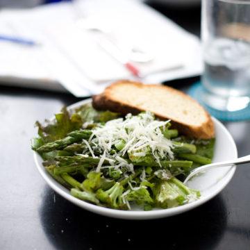 Roasted Broccoli and Asparagus Salad