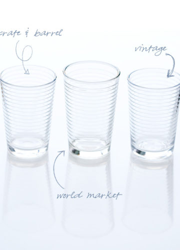My Favorite Juice Glasses