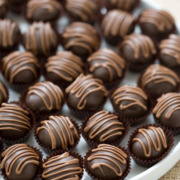 Mexican Chocolate Cookie Dough Truffles