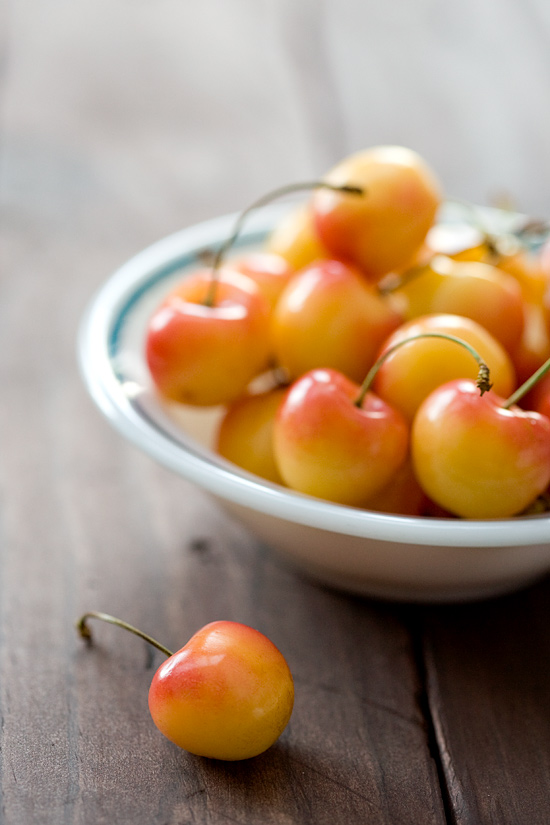Colorado Rainier Cherries