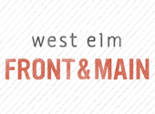 West Elm Front & Main Blog