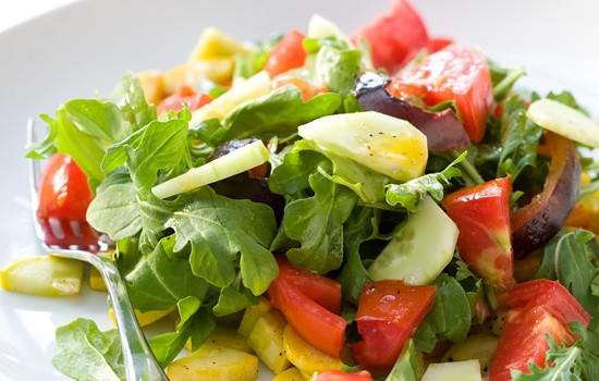 CSA Farmers Market Salad