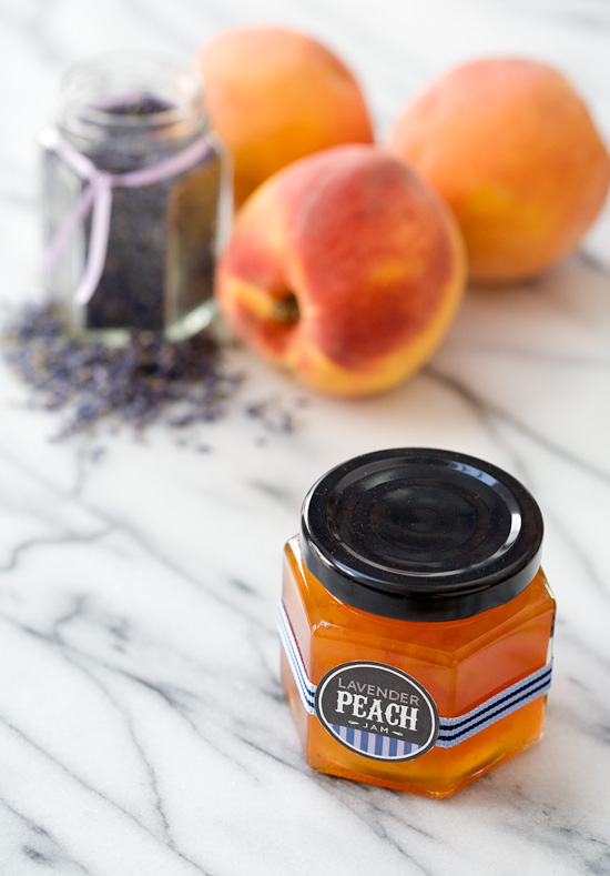 Peach Lavender Jam | Love and Olive Oil