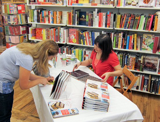 NYC Book Signing, Posman Books, Chelsea Market