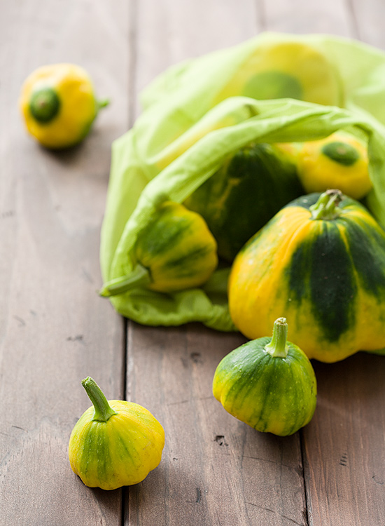 Pattypan Squash from our CSA