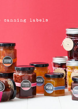 Free Printable Canning Jam Labels