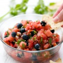 Watermelon Blueberry Salsa