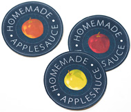 Printable Homemade Applesauce Canning Labels