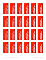 Printable Tomato Preserves Labels