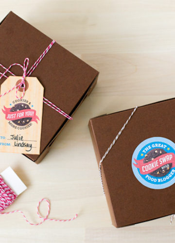 Cookie Swap Printable Labels and Tags