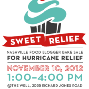 Sweet Relief Food Blogger Bake Sale for Hurricane Relief