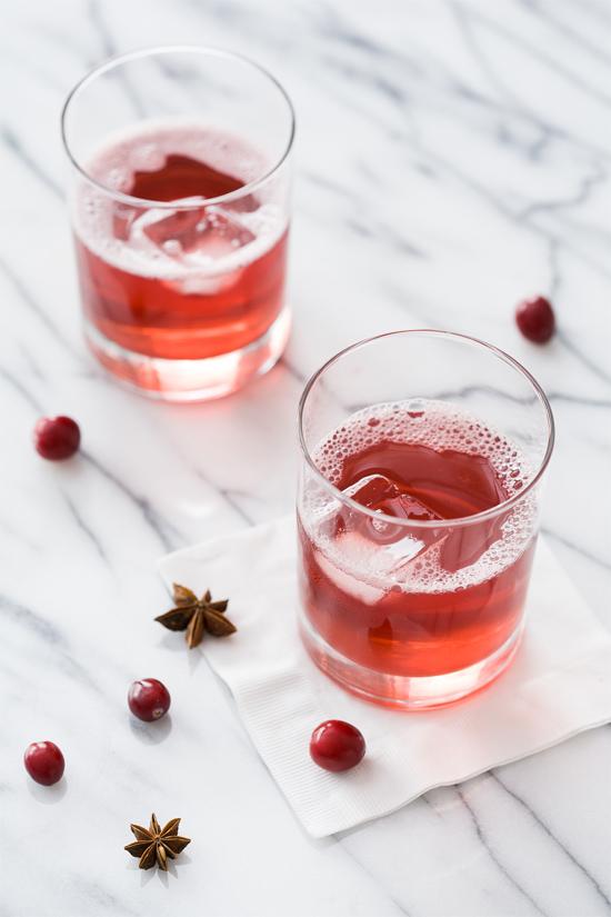 Cranberry Spritzer Cocktail