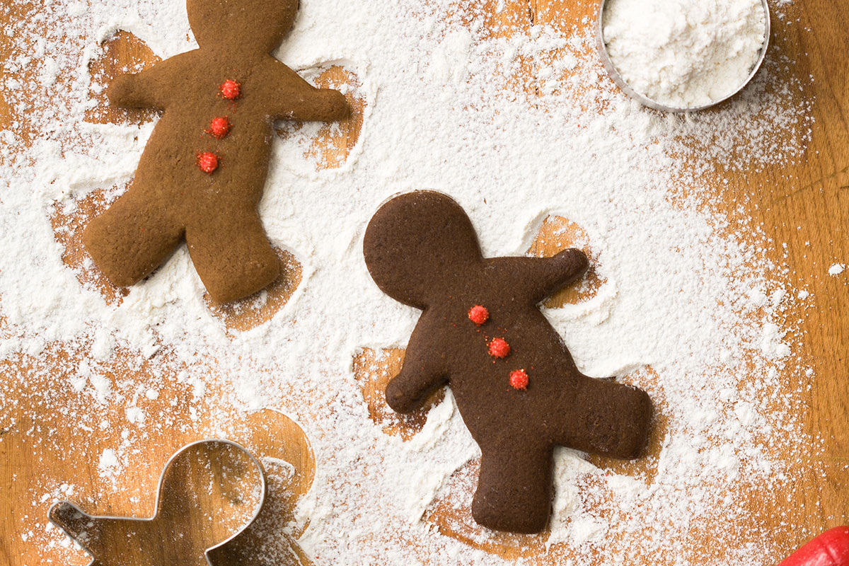 Classic Gingerbread Cut-Out Cookies (and a lesson in molasses)