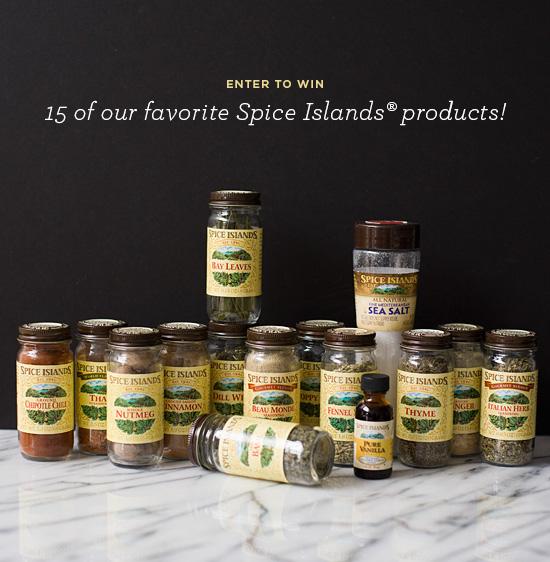 Spice Islands Flavor Explorer Giveaway