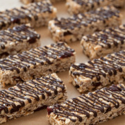 Cherry Almond Nib Granola Bars